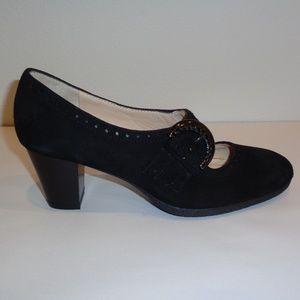 Amalfi by Rangoni Size 6 M NINON Black New Shoes
